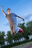 Jump in the sky Stock Photography