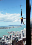 Jump from Sky Tower, Auckland, New Zealand Stock Photography
