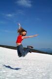 Jump skyward Royalty Free Stock Image