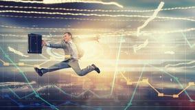 Jump to future technologies Stock Photos