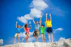Jump up Stock Photo