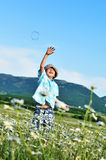 Jump up Royalty Free Stock Images