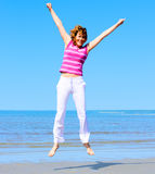 Jump! up! Royalty Free Stock Photos