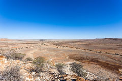 Jump up formations in the Australian outback. Stock Images