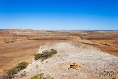 Jump up formations in the Australian outback. Royalty Free Stock Images