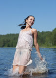 Jump in water Royalty Free Stock Images