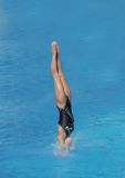 Jump in water Stock Photography