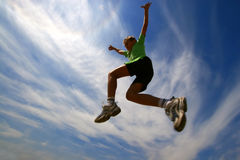 Jump8 Fotos de Stock Royalty Free