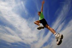Jump9 Stock Foto