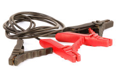 Jumper cables Royalty Free Stock Photo