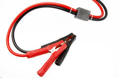 Jumper Cables Royalty-vrije Stock Afbeelding