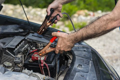 Jumper Cables Stock Foto