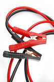Jumper cables Royalty Free Stock Images