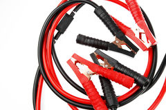 Jumper cables Royalty Free Stock Photography