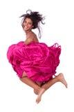 Jumper girl Stock Image