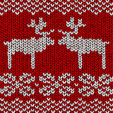 Jumper with reindeers. Christmas background, jumper with reindeers Royalty Free Stock Photos