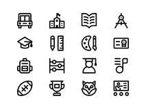 Jumpicon - volume 1 di istruzione glyph Fotografia Stock