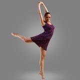Jumpin femminile del danzatore Immagine Stock