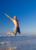 Jumping Royalty Free Stock Photos