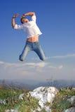 Jumping Royalty Free Stock Image