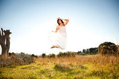 Jumping Royalty Free Stock Image