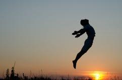 Jumping. Stock Photos