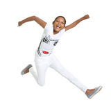 Jumping 4 joy Royalty Free Stock Images