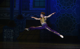 """Jumping- ballet """"One Thousand and One Nights"""" Stock Photography"""