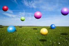 Jumping Balls stock photos