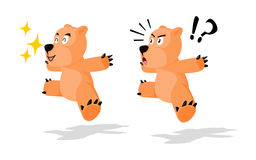 Jumping Bear Stock Photos