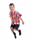 Jumping boy Royalty Free Stock Photo