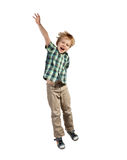 Jumping boy Royalty Free Stock Images