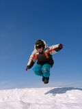 Jumping boy Stock Photo