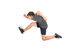 Jumping boy Royalty Free Stock Photos