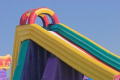 Free Jumping Castle Royalty Free Stock Photo - 902145