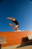 Jumping dancer Royalty Free Stock Photo