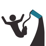 Jumping design Stock Photo