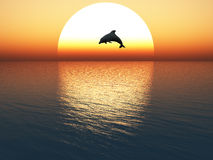 Free Jumping Dolphin Royalty Free Stock Image - 60045576