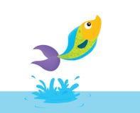 Jumping fish Royalty Free Stock Photography