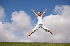 Jumping free Stock Photos