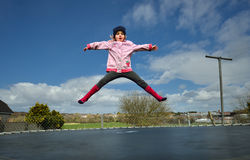 Jumping Fun stock images