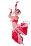 Jumping genie Stock Image