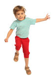 Jumping girl Royalty Free Stock Photo