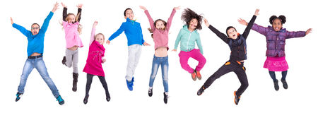 Jumping Royalty Free Stock Images