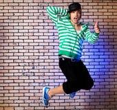 Jumping guy Royalty Free Stock Photos