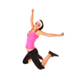 Jumping with health! Stock Photography