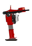 Jumping jack compactor. Stock Image