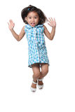 Jumping kid Royalty Free Stock Photo