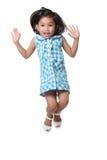 Jumping kid Royalty Free Stock Photo