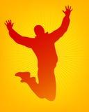 Jumping man Stock Photos
